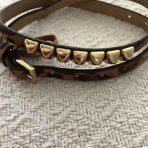 CAbi  Leather Wrap Anklets or Bracelets